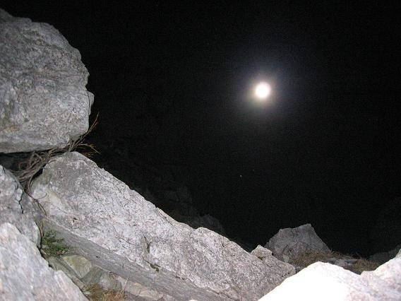 Luna in sence na sestopu z Ratitovca