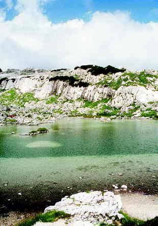 Zeleno jezero v Dolini triglavskih jezer Foto: Boris Strmšek