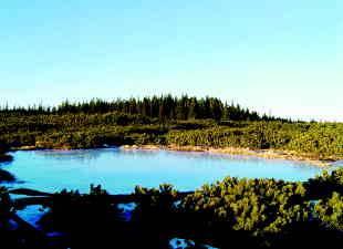 Zaledenela Lovrenška jezera. Foto: Dario Svetej