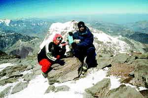 V zadnjih letih se vse več slovenskih alpinistov odloča obisati Patagonijo. Foto Boris Strmšek